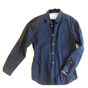 Banana Republic luxe stretch poplin button shirt
